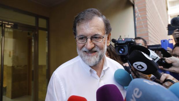 Rajoy vuelve a su otro trabajo