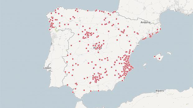 Estos son los municipios que se han presentado voluntarios para acoger a los migrantes del Aquarius