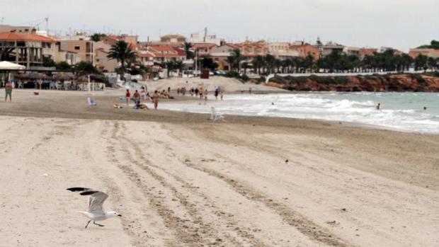 Una playa de Pilar de la Horadada