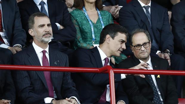 El Gobierno minimiza los insultos de Torra al Rey en su estrategia de «distensión»