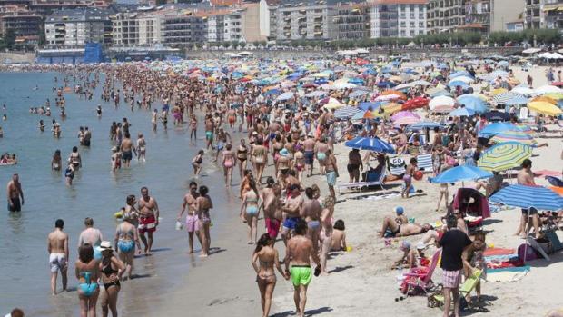 Playa de Silgar en Sanxenxo, en las Rías Baixas se espera una ocupación del 80-90%