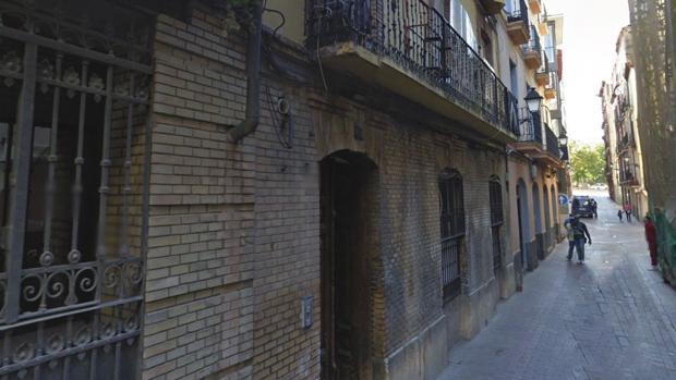 Zona de la zaragozana calle Ramón Pignatelli en la que se produjeron los hechos