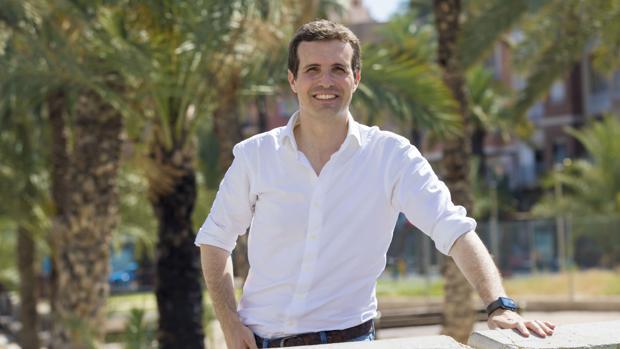 Pablo Casado, el viernes en Alicante
