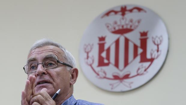 Imagen del alcalde de Valencia, Joan Ribó