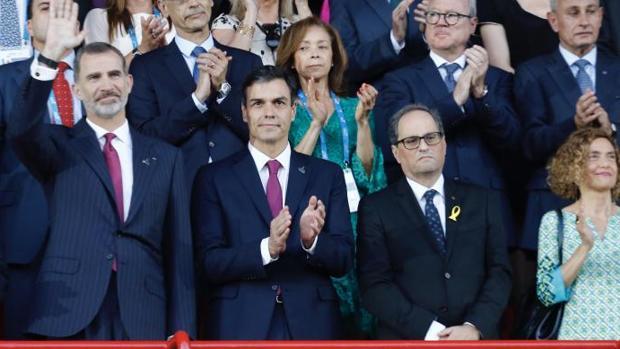 Sánchez estudia ya la retirada de recursos al TC sobre diez leyes catalanas