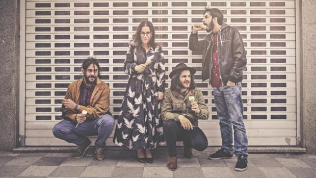 Integrantes de la banda conquense-toledana Fizzy Soup