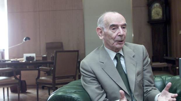 EL ex fiscal general del Estado Jesús Cardenal en 2003