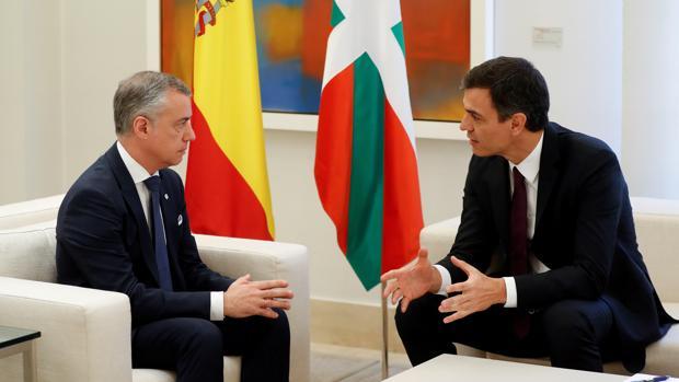 [Gobierno Vasco] Viaje oficial de Íñigo Urkullu a Madrid - 15 de Febrero Urkullu-sanchez-efe-kPl--620x349@abc