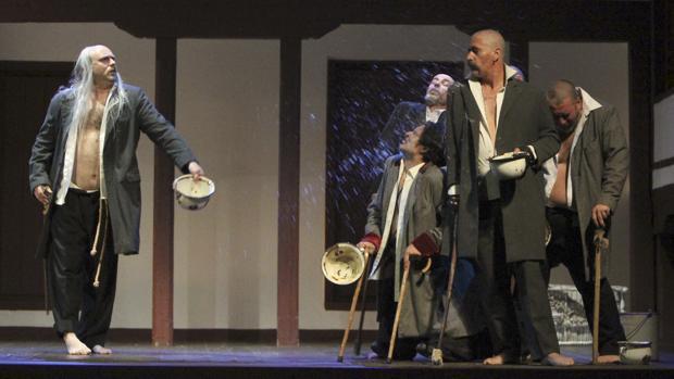 Una de las obras representadas en el Festival de Teatro Clásico de Almagro