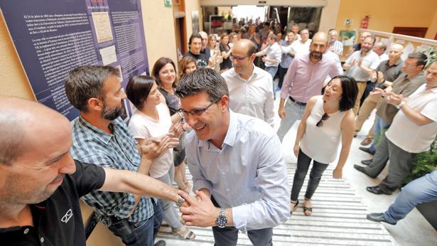 El ayuntamiento de ontinyent prepara un recibimiento for Kiosko alqueria