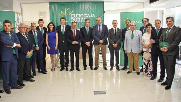 Eurocaja rural inaugura su primera oficina en alicante for Oficina de correos alicante