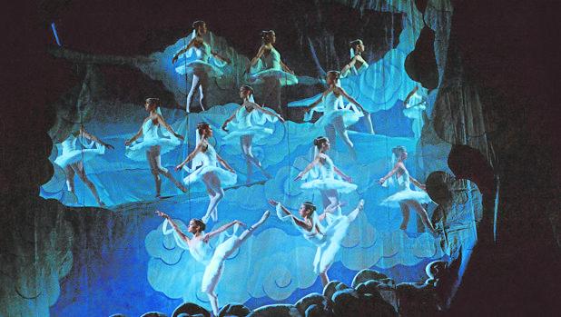 Una imagen del montaje del Ballet de Monterrey