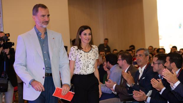 El Rey Felipe VI y la Reina Letizia asisten al encuentro anual «Rescatadores de talento» en Gerona