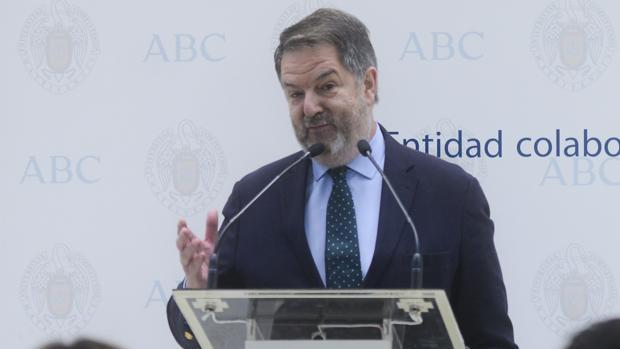 El director de ABC, Bieito Rubido, en una imagen de archivo