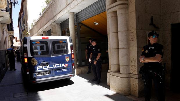 El Ayuntamiento de Teruel también ha sido registrado en el marco de esta macrooperación policial