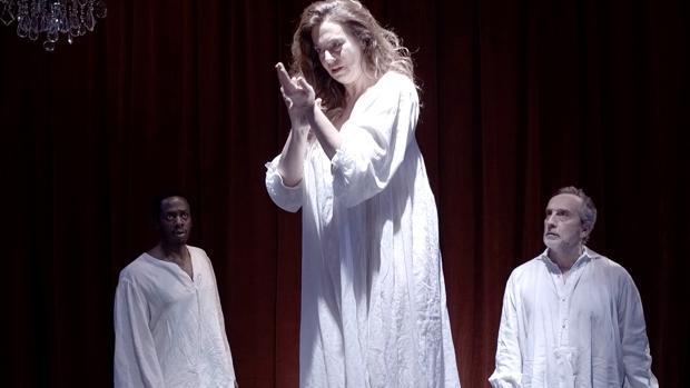 La actriz Lola Baldrich y Gonzalo de Castro presentarán el 6 y 7 de julio la obra «El Banquete»