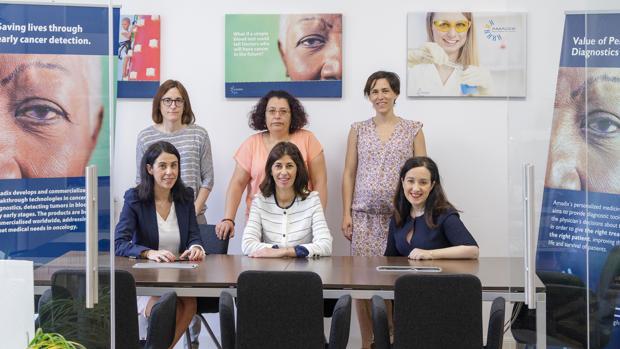 Integrantes de la empresa Amadix de Valladolid