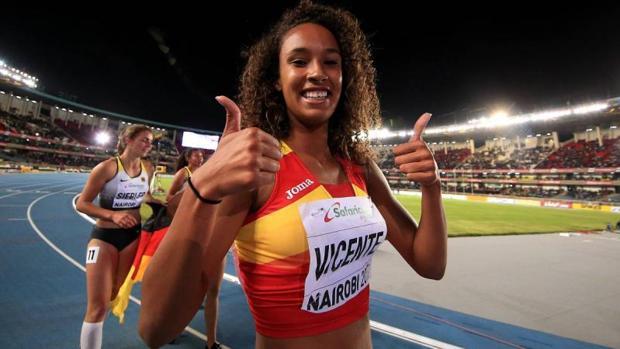 María Vicente se proclamó campeona mundial de heptalón en categoría juvenil el año pasado en Nairobi (Kenia)