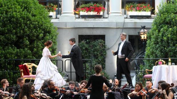La Traviata, en el Palacio de Amboage, el pasado jueves
