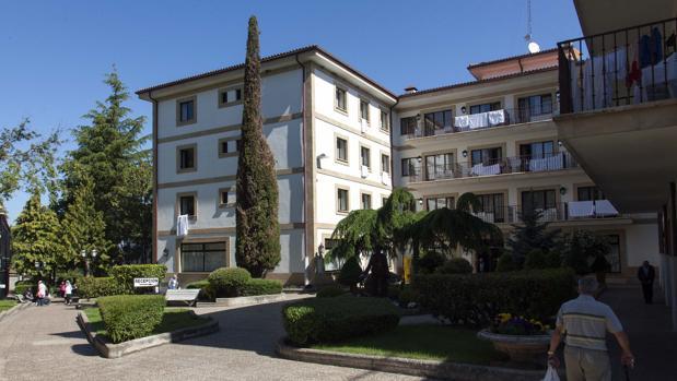 El balneario de Ledesma , en una imagen de archivo