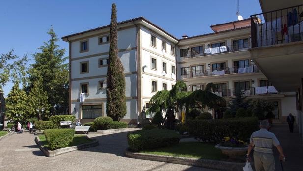 El balneario de Ledesma (Salamanca) en una imagen de archivo
