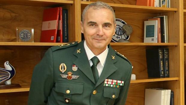 El responsable de la Guardia Civil en Galicia, Ángel Alonso Miranda