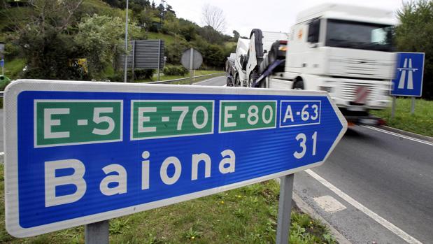 El incidente ocurrió a mediados de la semana pasada en un aparcamiento de Baiona