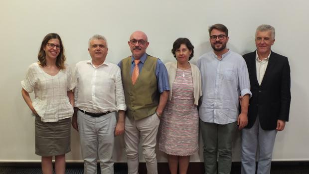 Imagen del jurado de los Premios Solidarios ONCE Comunidad Valenciana