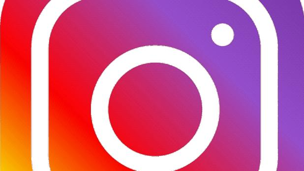Detalle del logo de Instagram