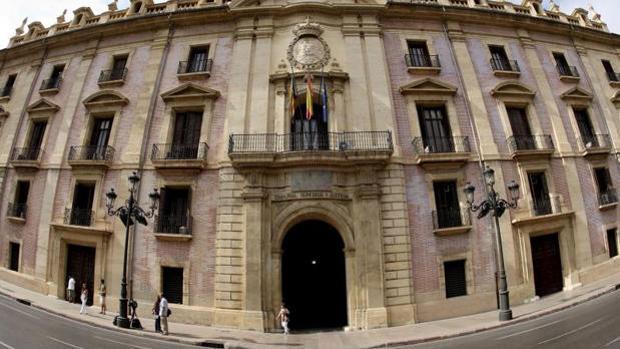 Imagen de la sede del Tribunal Superior de Justicia de Valencia