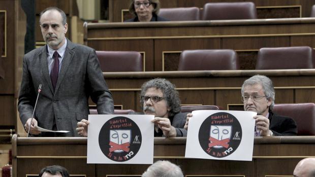 Joan Ridao, en su etapa de diputado de ERC en el Congreso