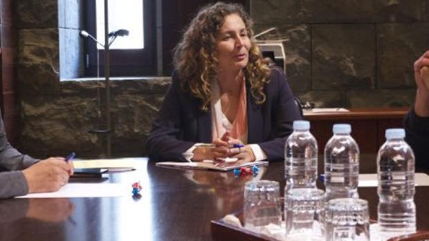 Ornella Chacón, presidenta de Puertos del Estado