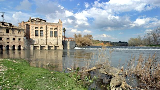 El río Tajo por su paso por Toledo