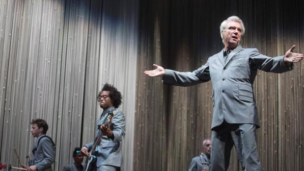 David Byrne, durante su actuación en el Cruïlla