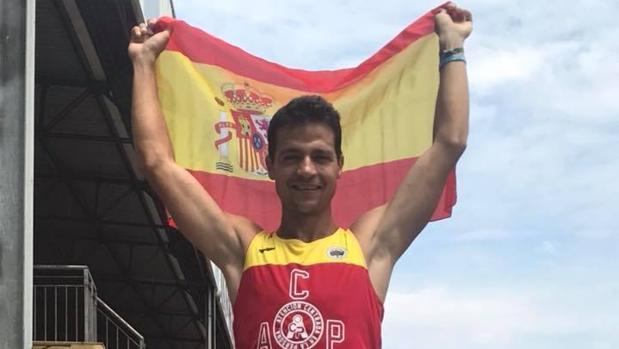 Christian López logra un bronce en el Mundial de Retrorunning