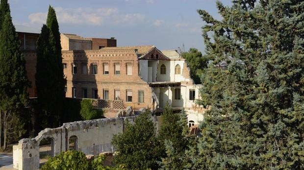 Estado actual del convento de las Damas Apostólicas y su jardín