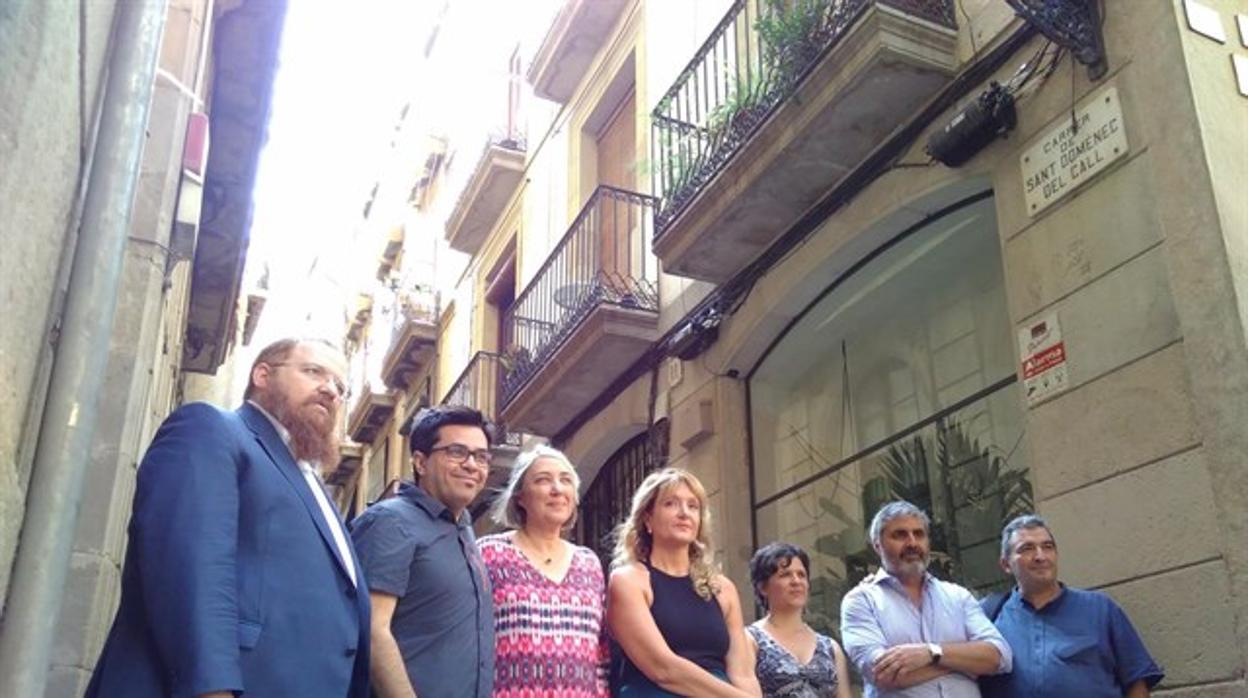 Barcelona deja homenajear el pogromo de 1391 y cambia la calle Sant Domènec del call por Salomó Ben Adret