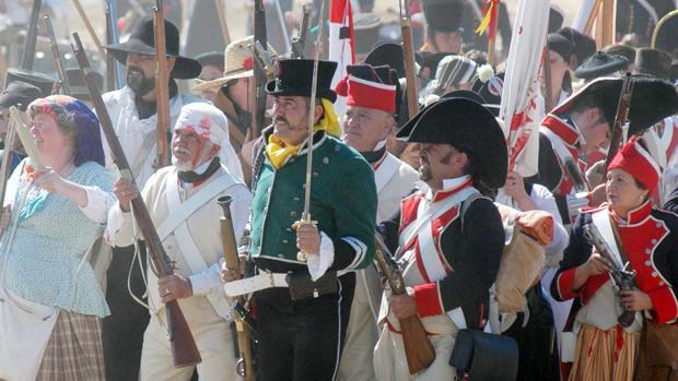Todos los días 19 de julio se recrea la batalla de Bailén