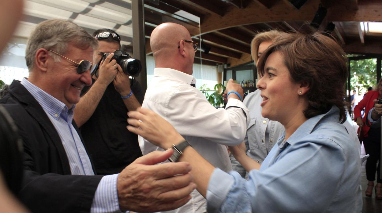 Tizón cree que «gane quien gane» Cospedal tiene que ser la candidata del PP en la región