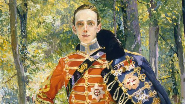 Alfonso XIII, pintado por Sorolla, en 1907