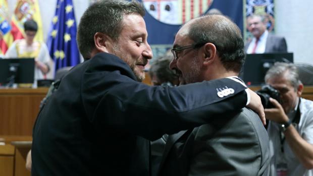 Lambán aspira a gobernar hasta el año 2023 pactando con Podemos y la Chunta