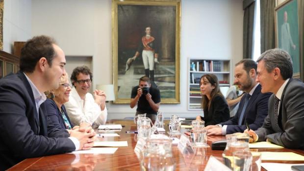 Ábalos da el visto bueno del Ministerio de Fomento a la redacción actual de Madrid Nuevo Norte
