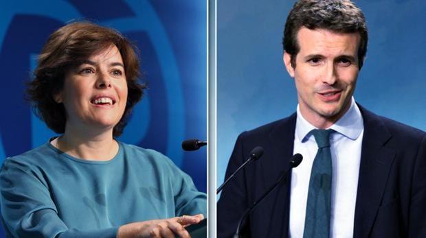 Los planes de Casado y Santamaría para el futuro del PP, desglosados en sus entrevistas con ABC