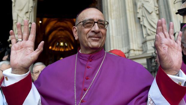 El cardenal arzobispo Juan José Omella