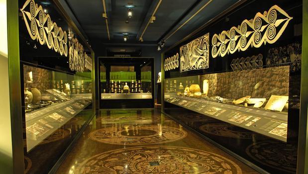Imagen del interior del museo Marc