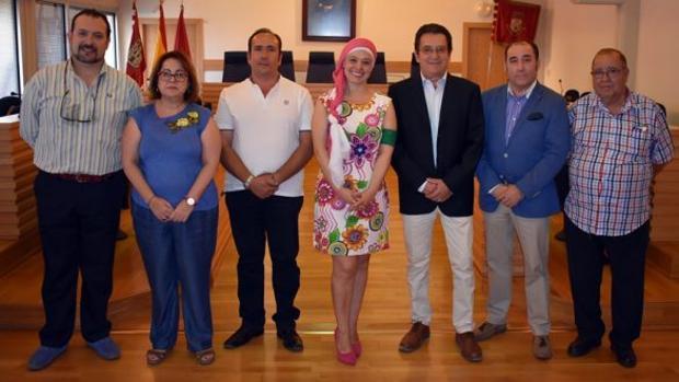 La alcaldesa de Ciudad Real recibió al Pandorgo 2018