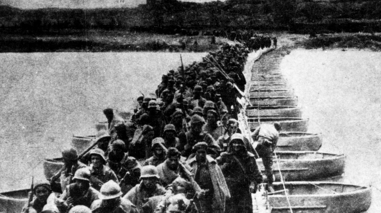 80 años de la brutal Batalla del Ebro en la que se hundió