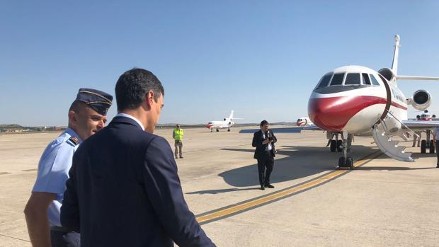 Hemeroteca: El avión oficial regresó a Castellón el sábado para recoger a Pedro Sánchez tras el concierto del FIB   Autor del artículo: Finanzas.com