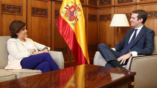 Hemeroteca: Santamaría asegura que seguirá en política y ofrece «unidad» a Casado | Autor del artículo: Finanzas.com
