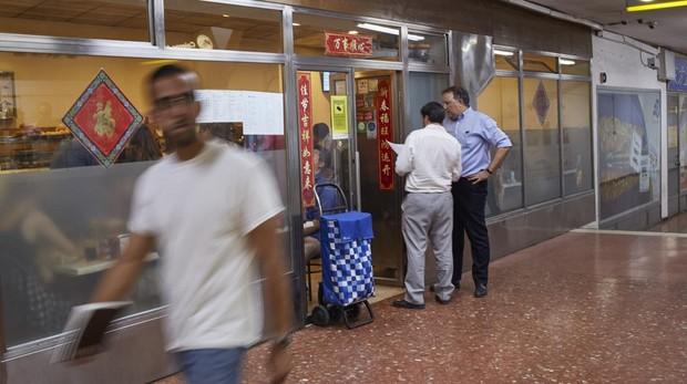 El final del pequeño «chinatown» de la Plaza de España